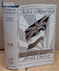 Tales of Hearsay. Joseph CONRAD.