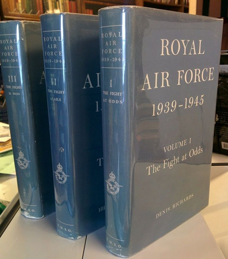 Royal Air Force 1939-1945  3 volumes by Denis RICHARDS, Hilary St  G   Saunders on The Colophon Book Shop