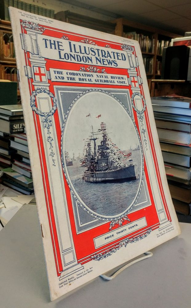 The Illustrated London News. The Coronation Naval Review; and the Royal Guilhall May 22, 1937.