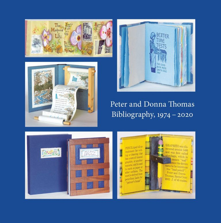 Peter and Donna Thomas Bibliography 1974-2020. Peter and Donna THOMAS.