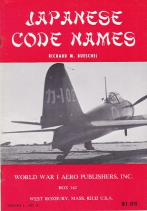 Japanese Code Names. (Cover title). Richard M. BUESCHEL.