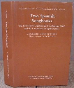 Two Spanish Songbooks. Dorothy Sherman Severin