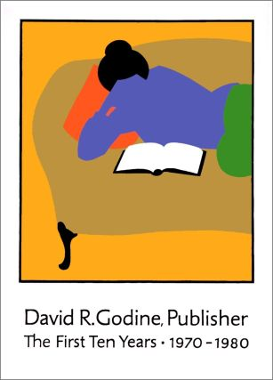 David R. Godine, Publisher. [Poster]. Lance HIDY