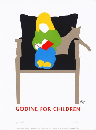 Godine for Children. [Poster]. Lance HIDY