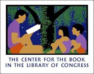 The Center for the Book in the Library of Congress. [Poster]. Lance HIDY