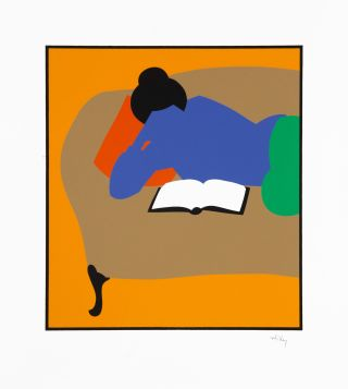 Carolyn Reading. [Silkscreen print]. Lance HIDY