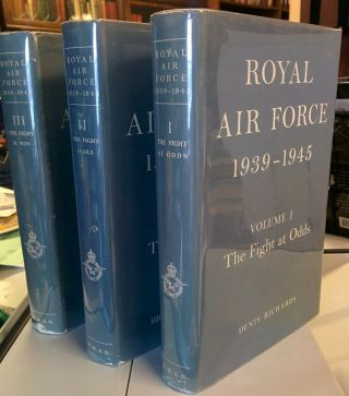 Royal Air Force 1939-1945. (3 volumes).