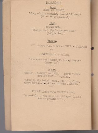 40 Staging Post Sergeants Mess. (Menu). Christmas 1945. Habbaniya (Iraq).
