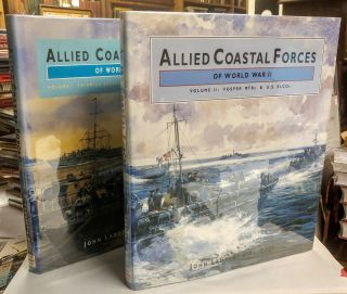 Allied Coastal Forces of World War II. Volume I: Fairmile designs and US submarine chasers;...