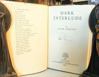 Dark Interlude. [SIGNED].