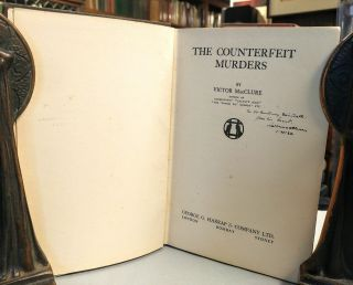 The Counterfeit Murders.