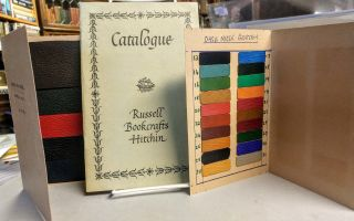 Catalogue. Russell Bookcrafts