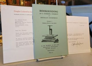 Bookbinding as a School Subject. Stage I, Binding Books of One Section. Douglas COCKERELL