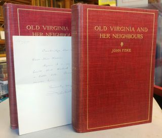 Old Virginia and Her Neighbors. Two volumes.