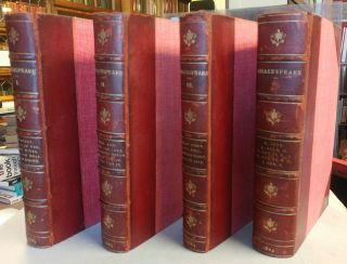 The Works of William Shakespeare. Edited by William George Clark and John Glover. Nine Volumes, complete.