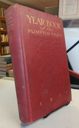 The Plimpton Press Year Book. An Exhibit of Versatility