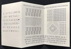 Visionaries & Fanatics and Other Essays on Type Design, Technology, & the Private Press.