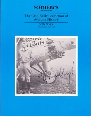 The Otto Kallir Collection of Aviation History.